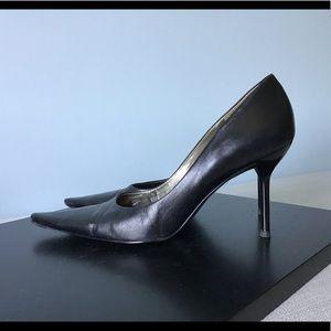 Classic BCBG Leather Heels